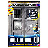 Character Building Dr Who Anni 11th Drs Collect Set
