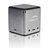 SPEEDLINK Xilu Portable Speaker, 2 W. RMS, Grey (SL-8900-GY).