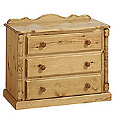 Ideal Furniture Ashley 3 Drawer Chest