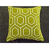 KLiving Sevilla Geometric Cushion Cover Ocre 43x43cm(Pack of 2)