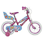 "Lalaloopsy 14"" Kids' Bike with Stabilisers"