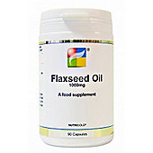 Nutrigold Flaxseed Oil 1000mg 90 Capsules