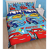 Disney Cars Rotary Double Duvet - Champ