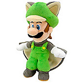 "Official Nintendo Super Mario Plush Series Stuffed Toy - 9"" Flying Squirrel Luigi"