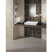Elgin Marble Beige Travertine Wall Ceramic Tile 248x398