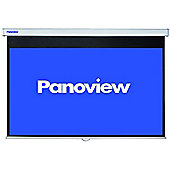 84-Inch Widescreen Pull-Down Projector Screen