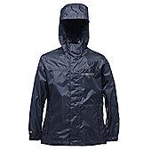 Regatta Kids Pack It Waterproof Jacket - Navy