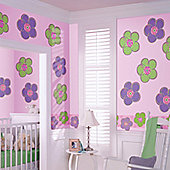 Wallpops Poppies Dot Wall Stickers - Purple