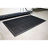 Coba Europe 15x09 m Rubber Anti-slip/Anti-Fatigue Mat Black