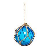 Linea Small Glass Buoy Sea Blue