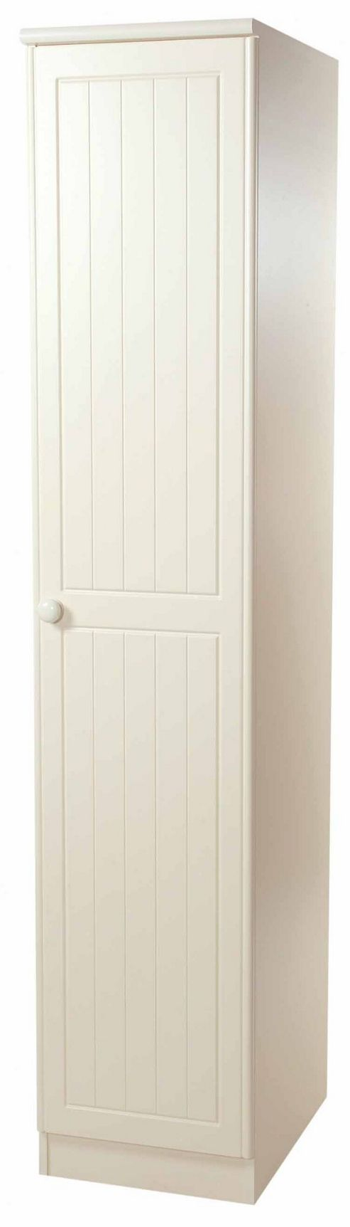 Welcome Furniture Warwick Tall Single Wardrobe - Light Oak