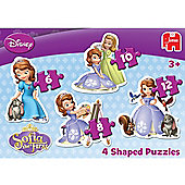 Disney Sofia The First 4x20pcs Puzzle