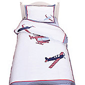 High Flyer Cotton Children's Single Duvet Set