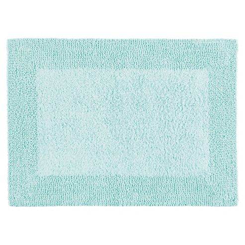 Tesco Reversible Bath Mat Spearmint Green