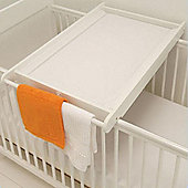East Coast Cot Top Changing Mat - White