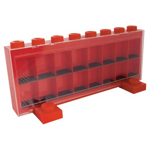 LEGO Mini Fig Case Lge Red
