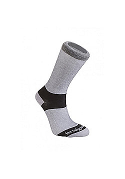 Bridgedale Mens Everyday Outdoors Coolmax Liner Sock - Grey
