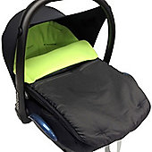 Car Seat Footmuff To Fit Maxi Cosi Pebble Lime
