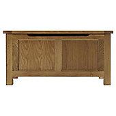 Thorndon Block Bedroom Blanket Box in Natural Matured Oak
