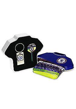 Chelsea FC Keyring & Key Blank Set