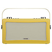View Quest Hepburn Bluetooth Speaker with DAB+ and FM - Mustard
