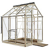 Rhino Premium Greenhouse 6x6 Silver Sage Finish