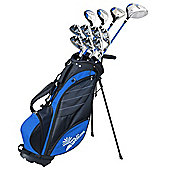 Palm Springs Golf Visa V2 Mens Left Hand Graphite/Steel Golf Club Set With Bag
