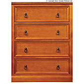 Sweet Dreams Wagner Chest Of Drawers - Oak