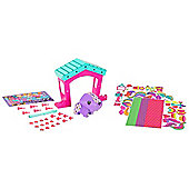 AmiGami Dog and Doghouse Playset