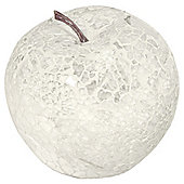 House Additions Mosaic Apple Ornament (Set of 6) - White