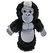 Long Sleeved Silverback Gorilla Hand Puppet