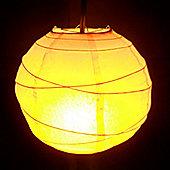 Loxton Lighting Paper Lantern (Set of 2) - Apricot - 35cm
