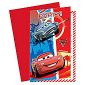 Cars Party Invitation Cards (6pk)