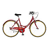 "19"" Viking Campus Single Speed Ladies, Red"
