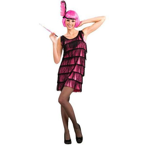Jazzy Pink Flapper - Small