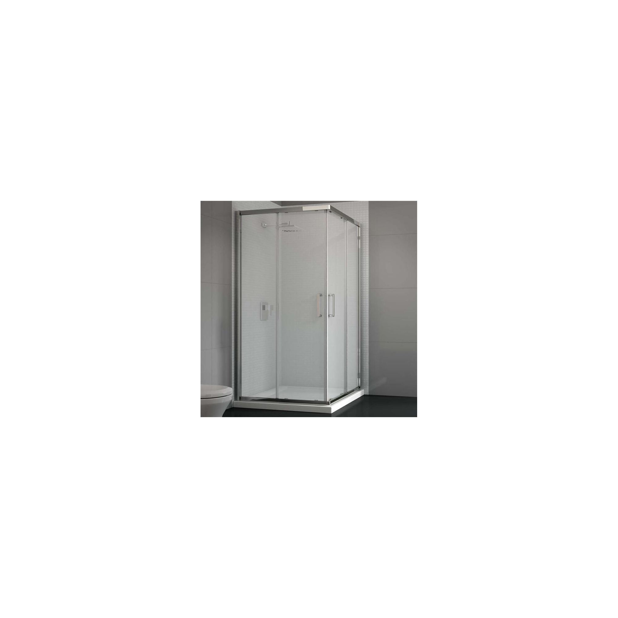 Merlyn Vivid Six Corner Entry Shower Door, 800mm x 800mm, 6mm Glass at Tesco Direct