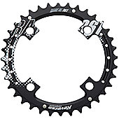 Reverse Race SL 7075CNC 104PCD Chainring in Black - 34T