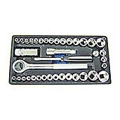 Rolson 40-Piece Socket Set