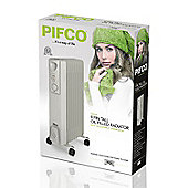 Pifco P43004Y Oil filled Radiator 2000W
