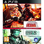 Rainbow 6 Vegas & Graw 2 (PS3 )