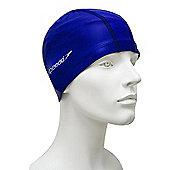 Speedo Pace Senior Lycra Swimming Cap - Royal blue