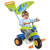 Smart Trike Candy 3-in-1 Trike, Blue/Green/Orange