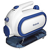 Abode Blue & White Steam Cleaner
