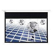 Optoma Panoview DS-9092PMG+ 92 inch Manual Pull Down 16:9 Projector Screen (Self Locking Mechanism) - Matt White