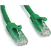 35 ft Green Snagless Cat6 UTP Patch Cable - ETL Verified