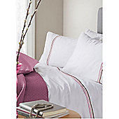 Pied A Terre Louisa Pink Single Duvet Cover Set