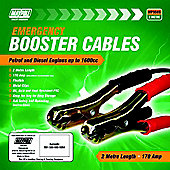 170A Booster Cable Set Suitable for Engines Up To 1600cc