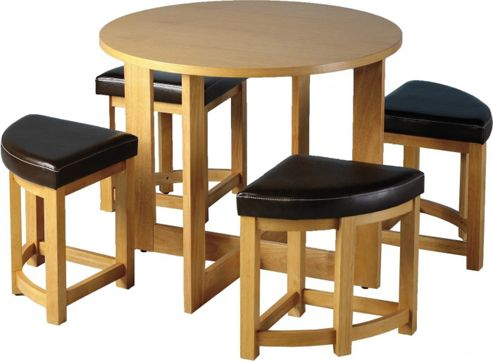 Home Essence Maidstone 5 Piece Stowaway Dining Set
