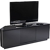 UK-CF Black Corner TV Stand for up to 60 inch