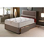 Vogue Beds Vogue Memory Pocket New Windsor Platform Divan Bed - Small Double / 2 Drawer